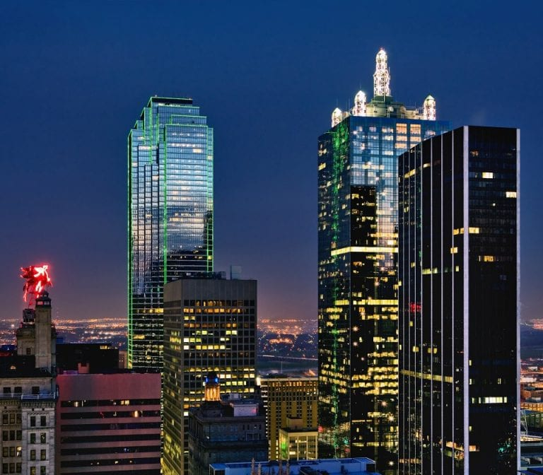 Downtown Dallas View