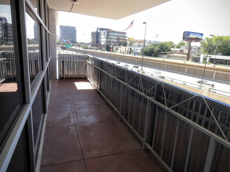 Unit 200 Balcony