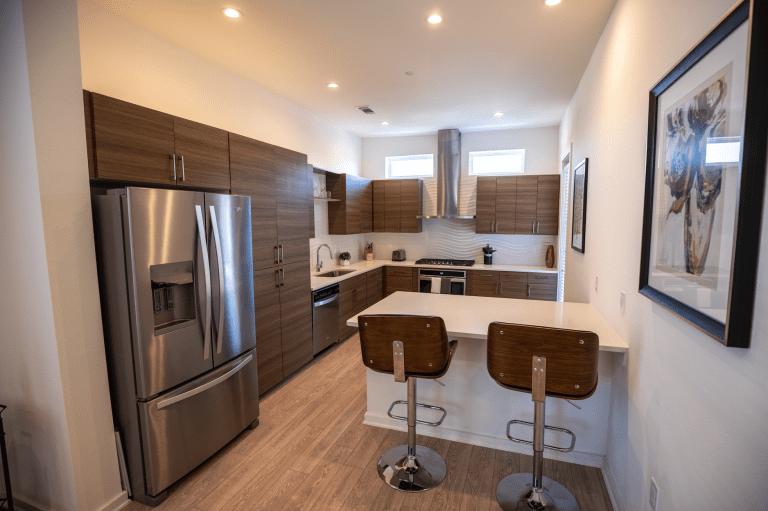 mid century mod kitchen